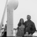 Jack and Norma aboard Nieuw Amsterdam.